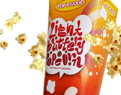 Popcorn package design