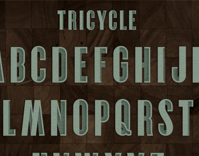 TRICYCLE FONT