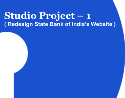 Redesign of SBI website