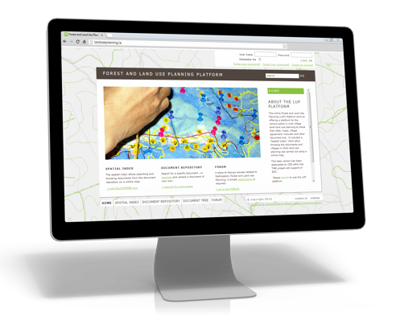 Forest And Land Use Participatory Planning Website