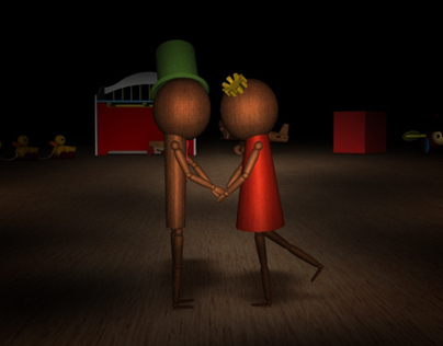 3D animation Puppet Love
