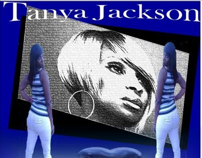 My sister Tanya who love Mary J. Blige