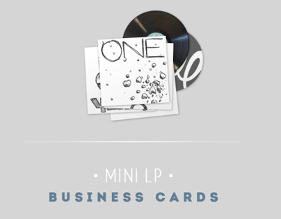 MINI LP - Business Cards