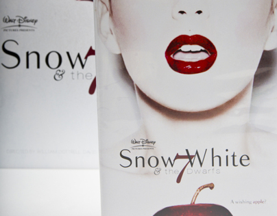 Snow White Movie Poster Redesign