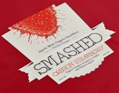Smashed Oregon Strawberry