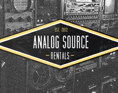 Analog Source Rentals Branding