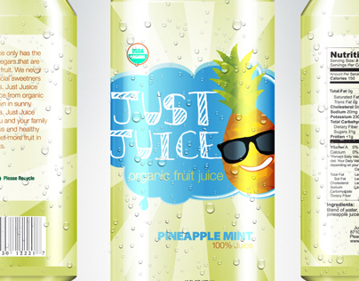 Just Juice Logo & Packaging