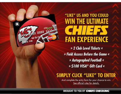 Chiefs Checking Facebook Contest