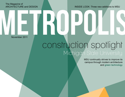 Metropolis Magazine: Construction Spotlight