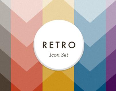 Retro Icon Set