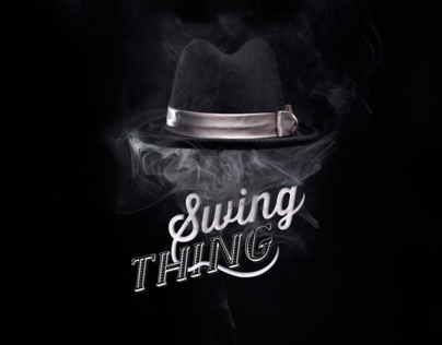 Logo Swing Thing / Logo for Electro Swing DJ