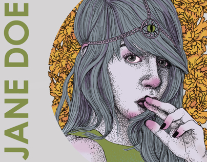 Jane Doe DC Cover and Tour Poster