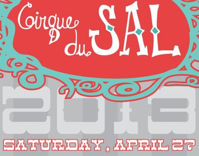 Cirque du SAL invitation 2013