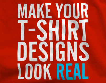 How to Make T-Shirt Designs Look Real