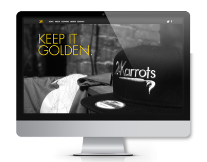 24 Karrots Branding and Website