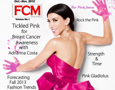 TV host Adrianna Costa for FCM magazine