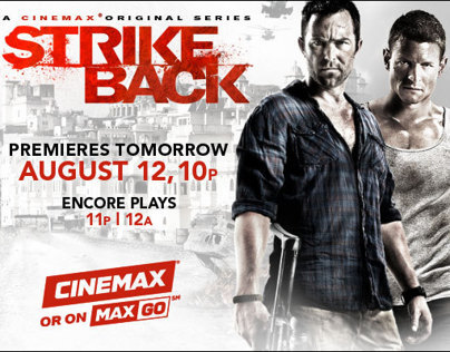 Cinemax Strikeback series
