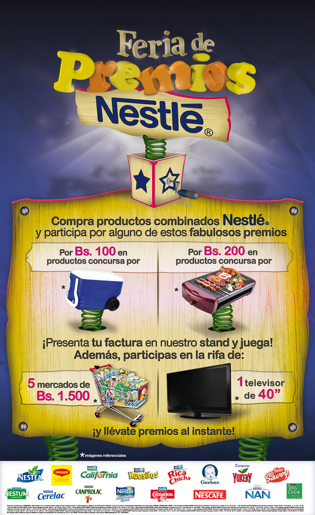 Promo multimarcas NESTLE