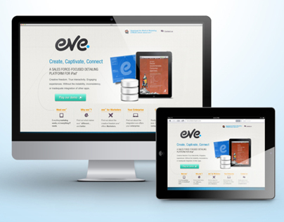 eVE Promotional Website