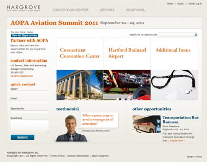 Hargrove Shows Convention Sponsorship Portal
