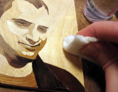 Wood Arts –Intarsia Portraits
