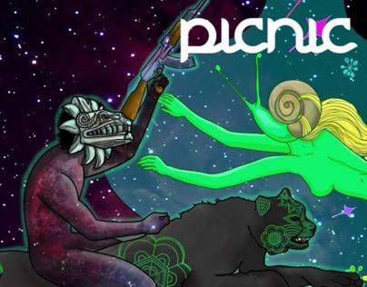 Viaje Intergalactico / Ilustracional 2012 / Propuesta