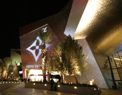 Louis Vuitton Facade Design - Las Vegas