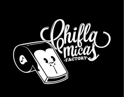 Chiflamicas Factory - Branding
