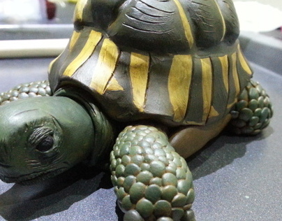 Super Sculpey Tortoise (polymer clay)