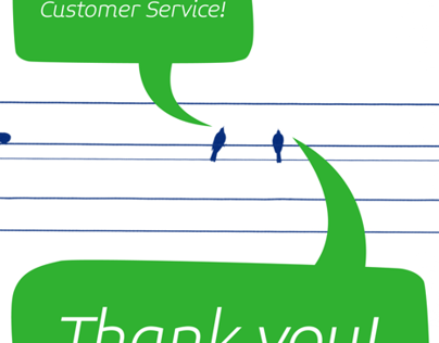 Thank You: Customer Service - 2012