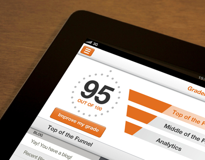 Hubspot app for iPad