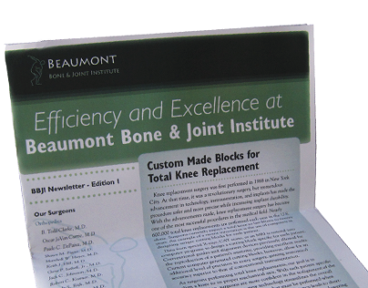 Beaumont Bone and Joint Newsletter
