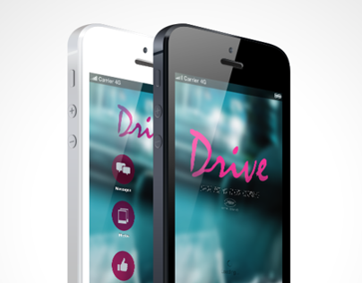 Drive iOS iPhone 5 App