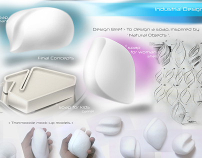 Soap Design - form based simple product design