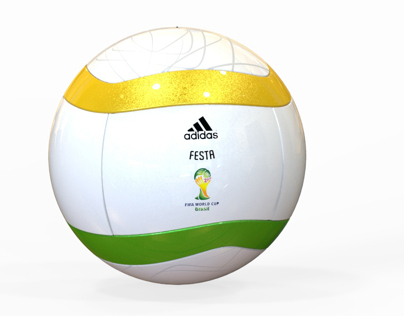 FESTA - World Cup Brazil 2014 Soccer Ball Concept
