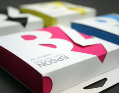 Epson Ink Cartridge Packaging