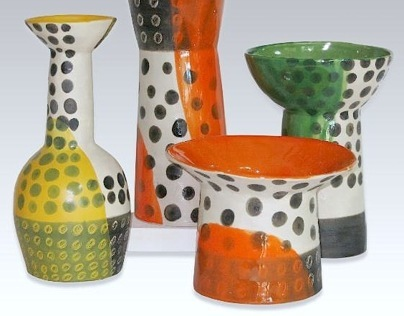 Pop-dot Ceramic Collection