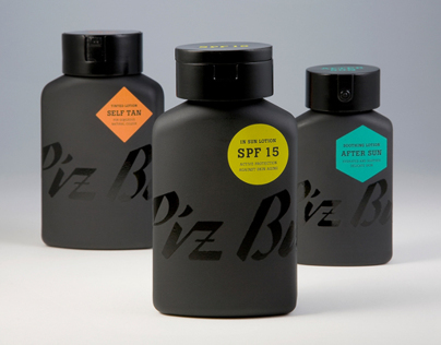 Piz Buin Packaging