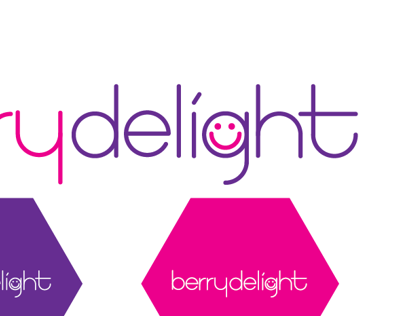 Berry Delight Logo Concept