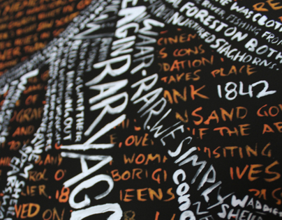 Typographic Map of Southbank