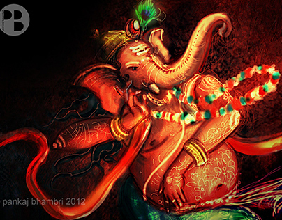 Lord Ganesha illustration