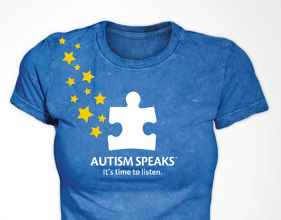 Autism Speaks Superstars Tshirt Design