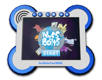 "Nuts & Bolts ""ScribblePad 1000"""