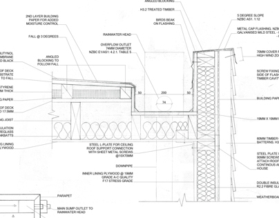 Construction Drawings: Roof Details