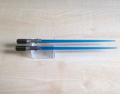 Lightsaber Chopsticks stand