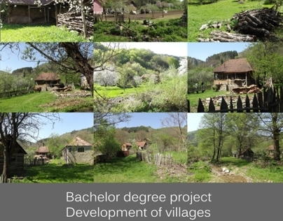 Bachelor Degree Project - Development of villages