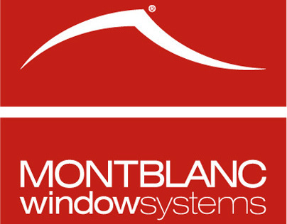 Montblanc Window System print materials.