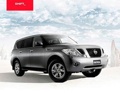 New Nissan Patrol 2012