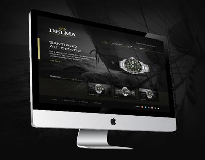 Delma Watch web design