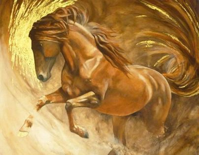 Paint & Pencil - the equestrian art of Kristine Nason